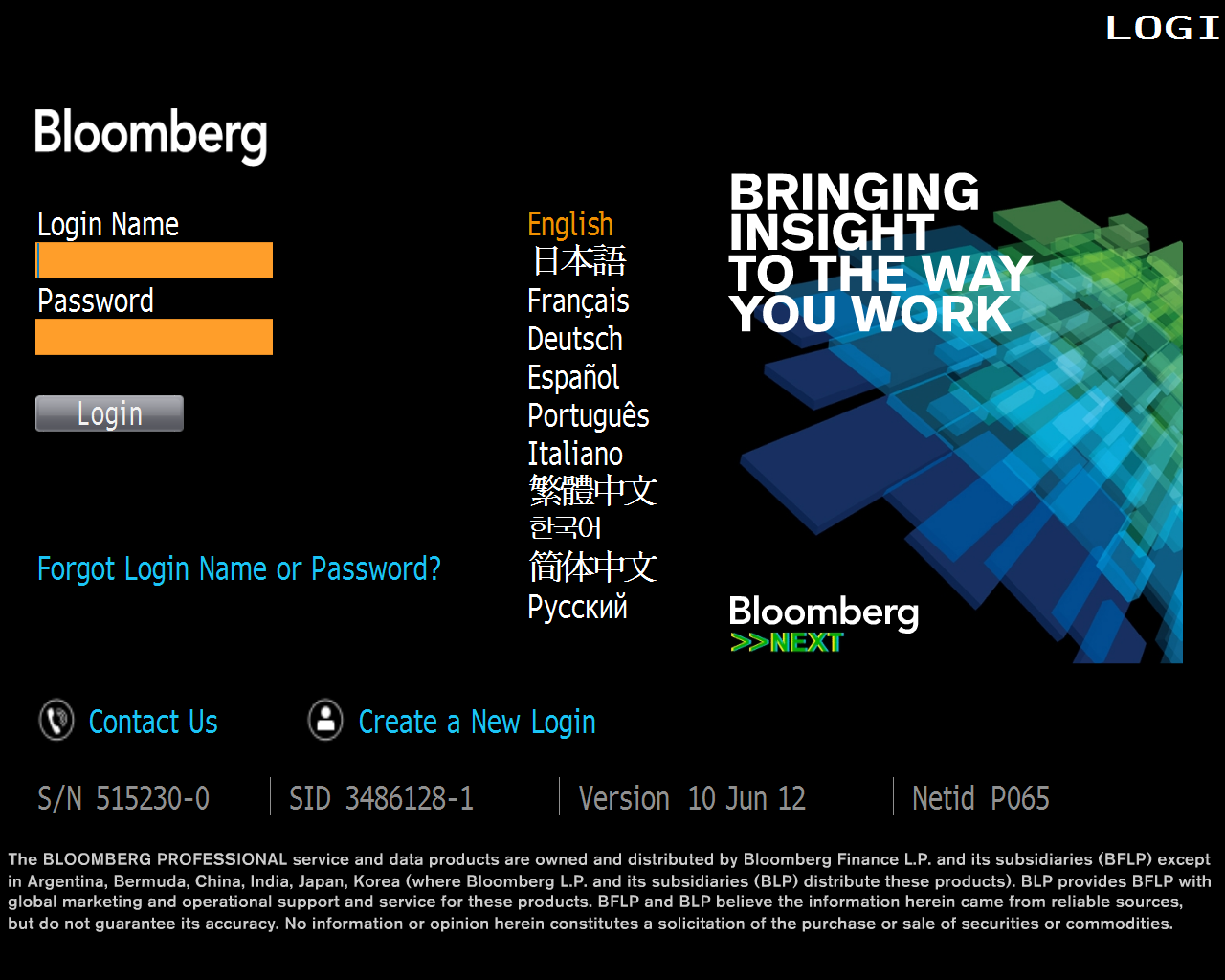 Bloomberg Terminal - Hanlon Financial Systems Lab Web