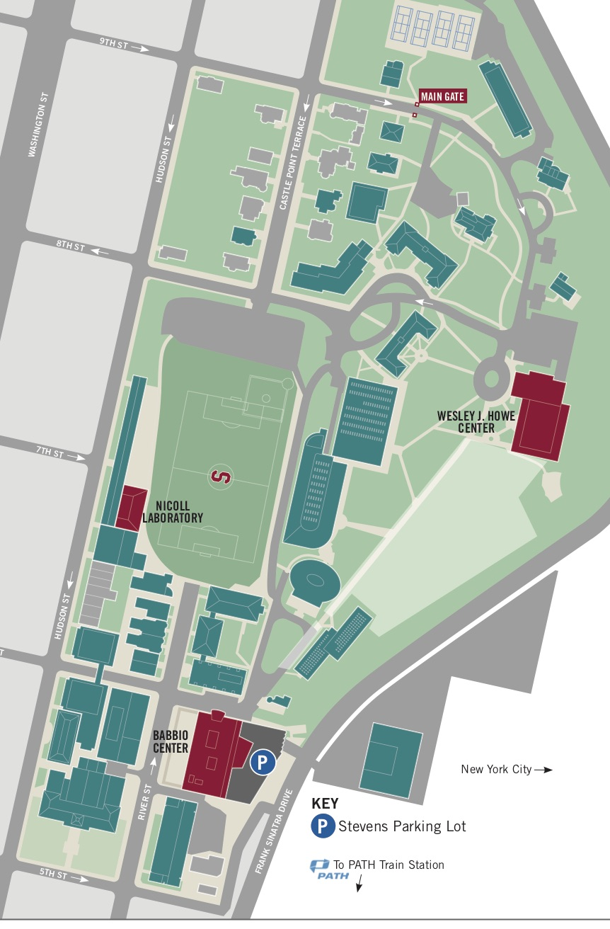 stevens institute of technology campus map Ispts 2019 stevens institute of technology campus map